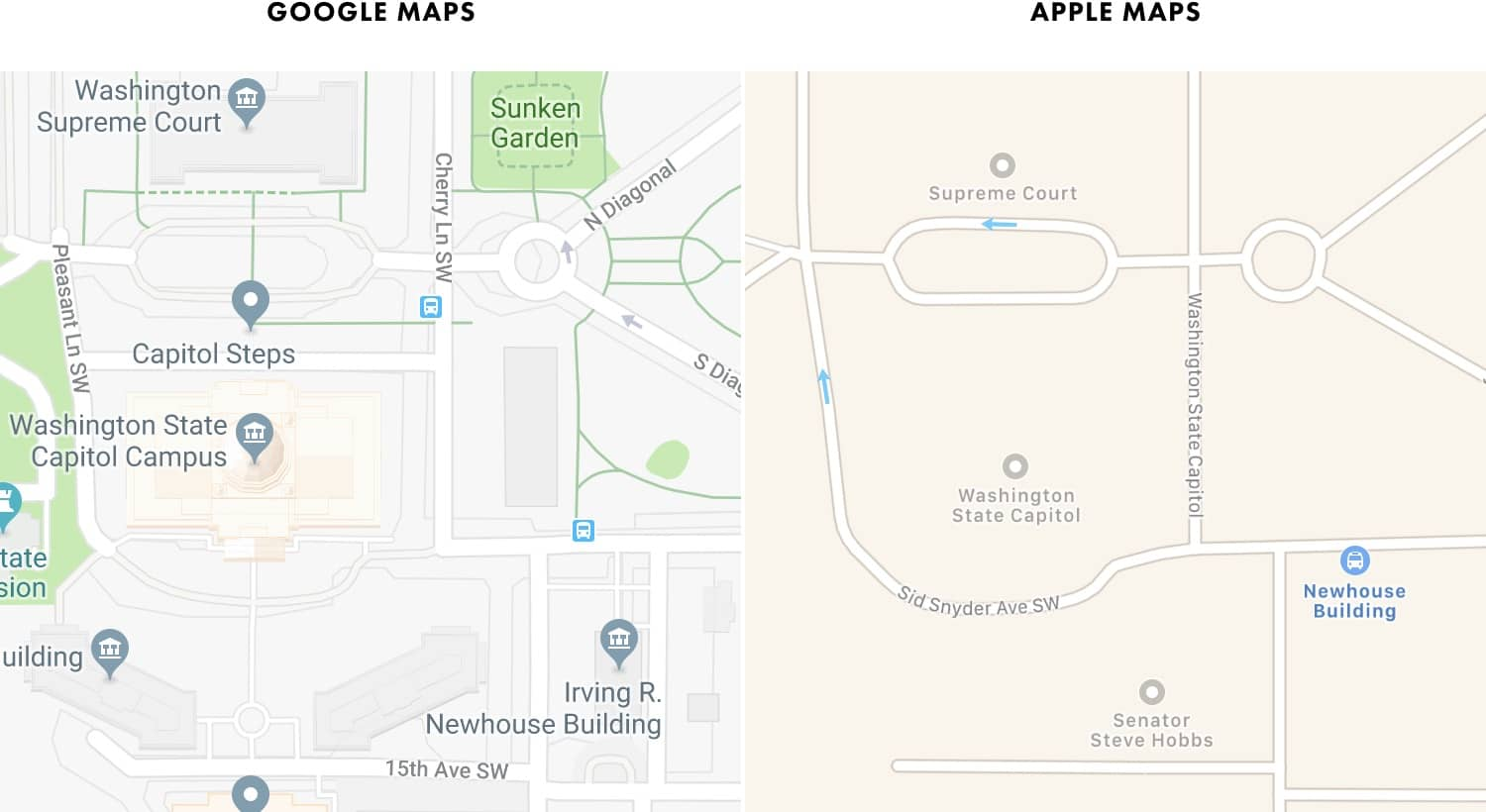 Google Maps's Moat on nw map, pt map, pax map, cn map, ms map, ar map, sw map, split map,