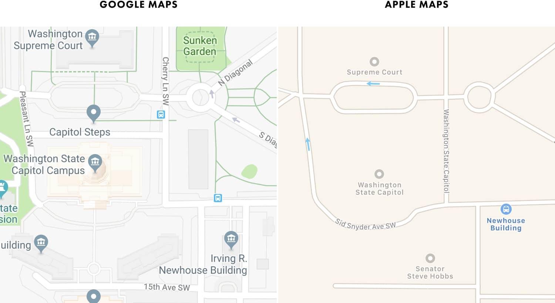 Google Maps's Moat