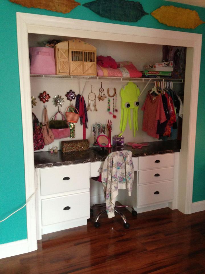 Custom Closet.