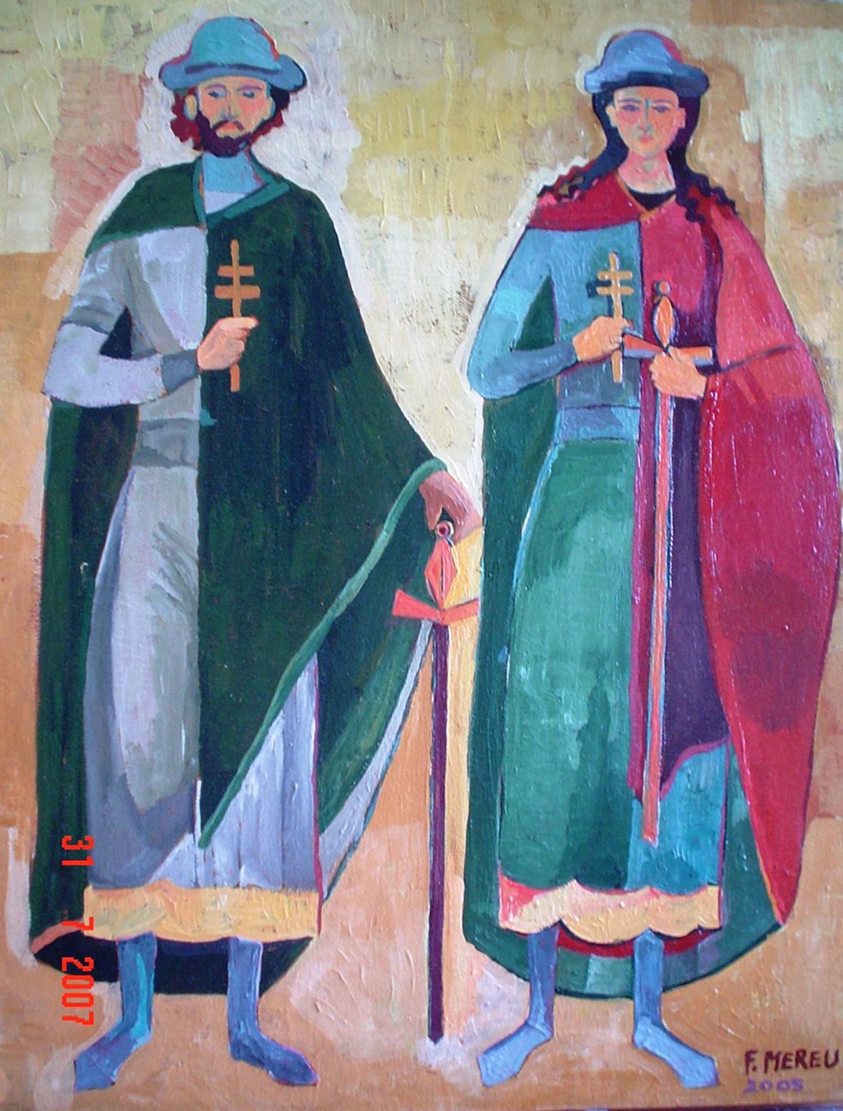 BORIS E GLEB, 40x50 cm