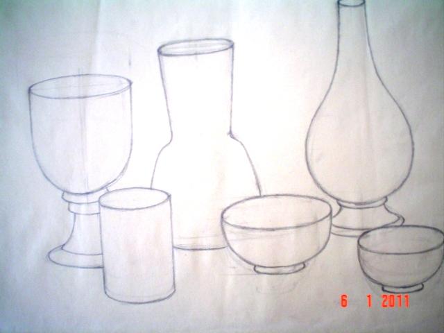 28 composizione di bottiglie dal vero.jpg