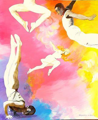JUMP! 120x100 cm