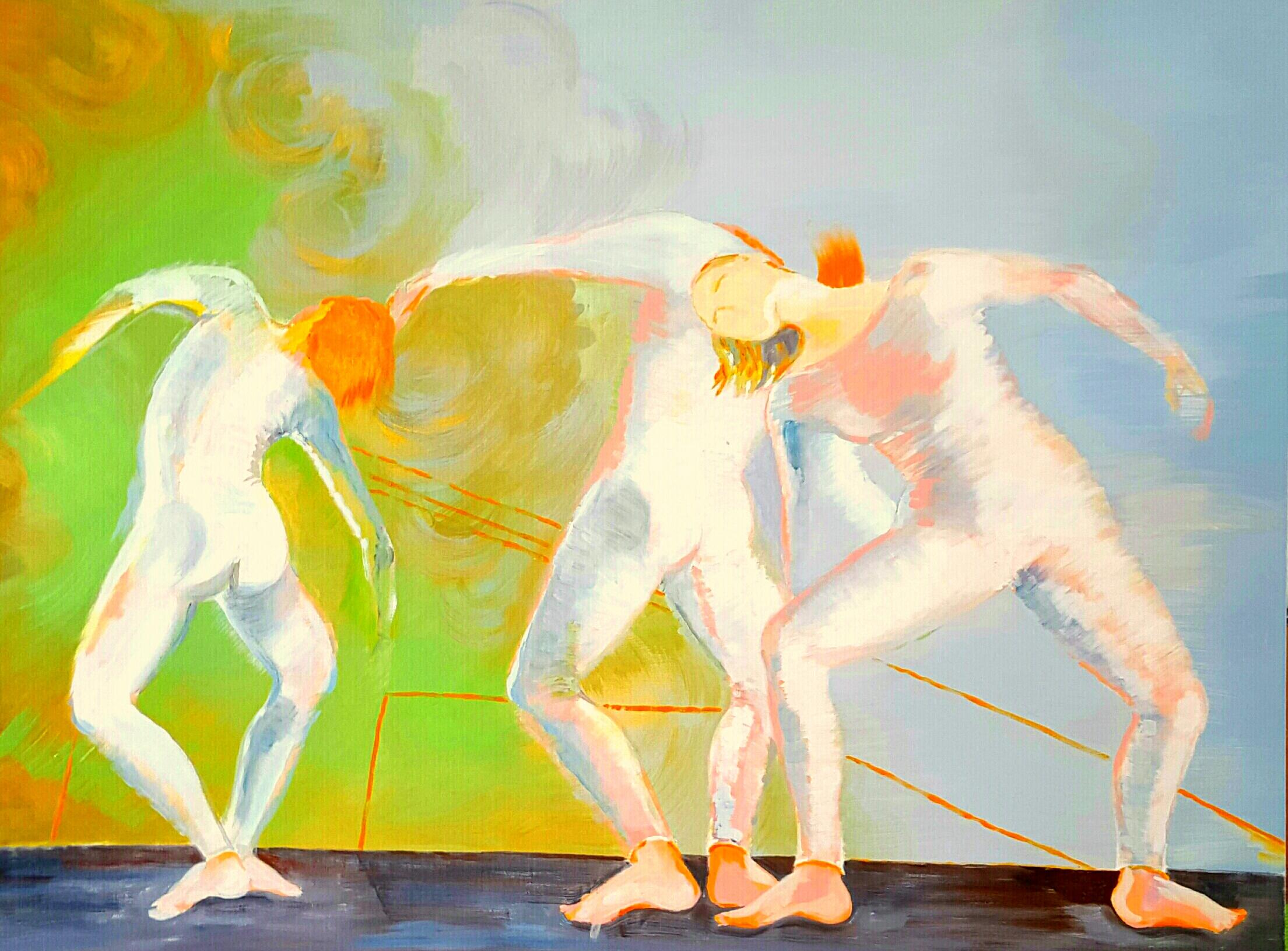 DANCE, 120x90 cm, 2017
