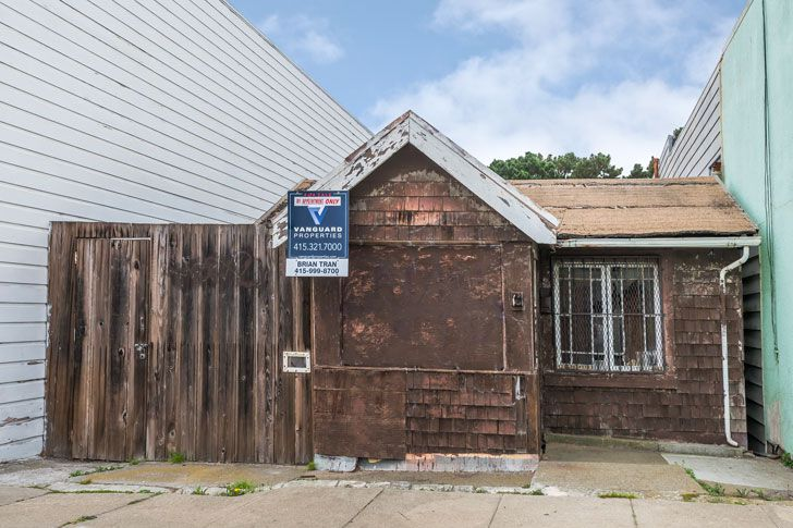 "San Francisco's ""cheapest"" house: a $350,000 shack"