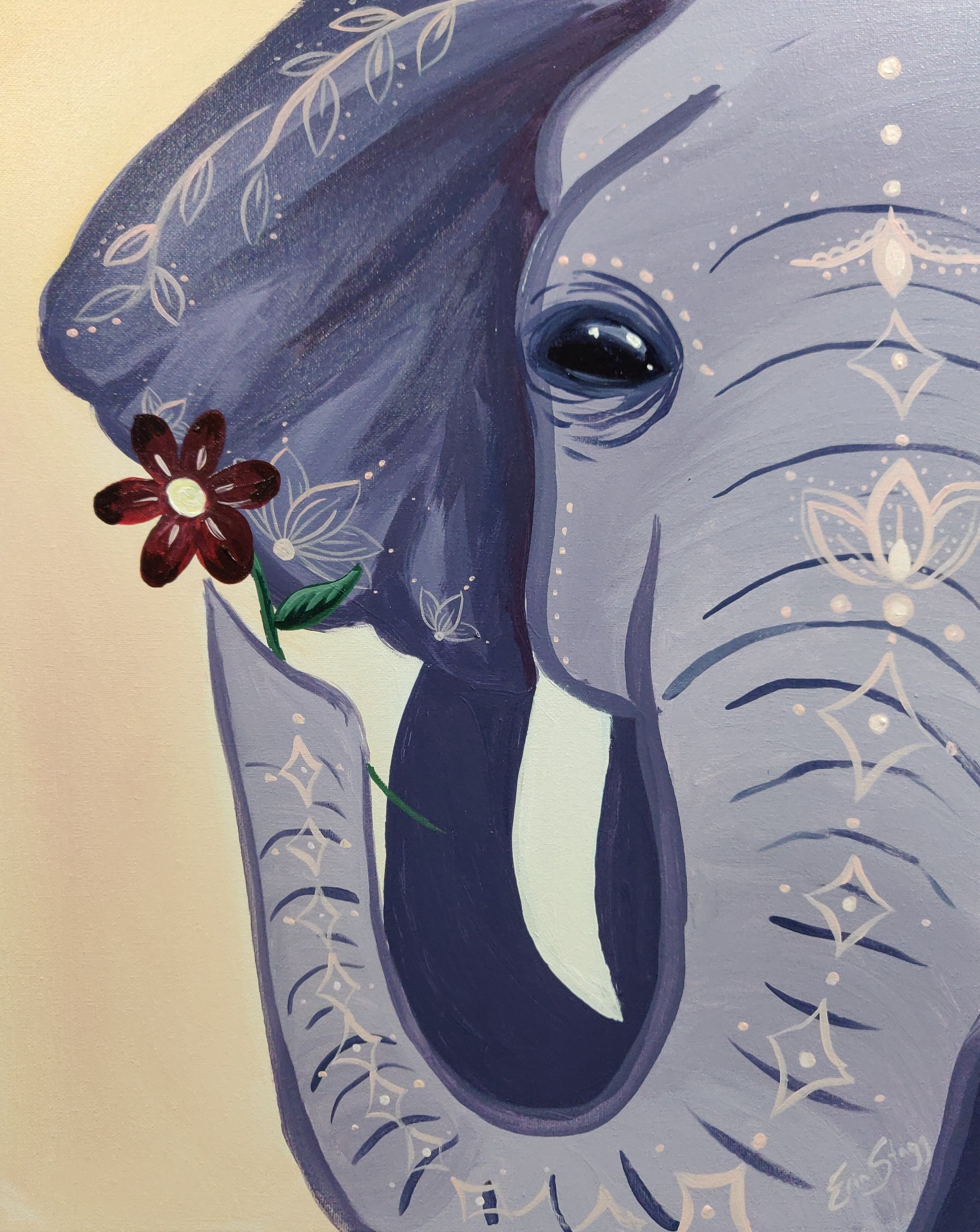 Elephant - with some colour changes