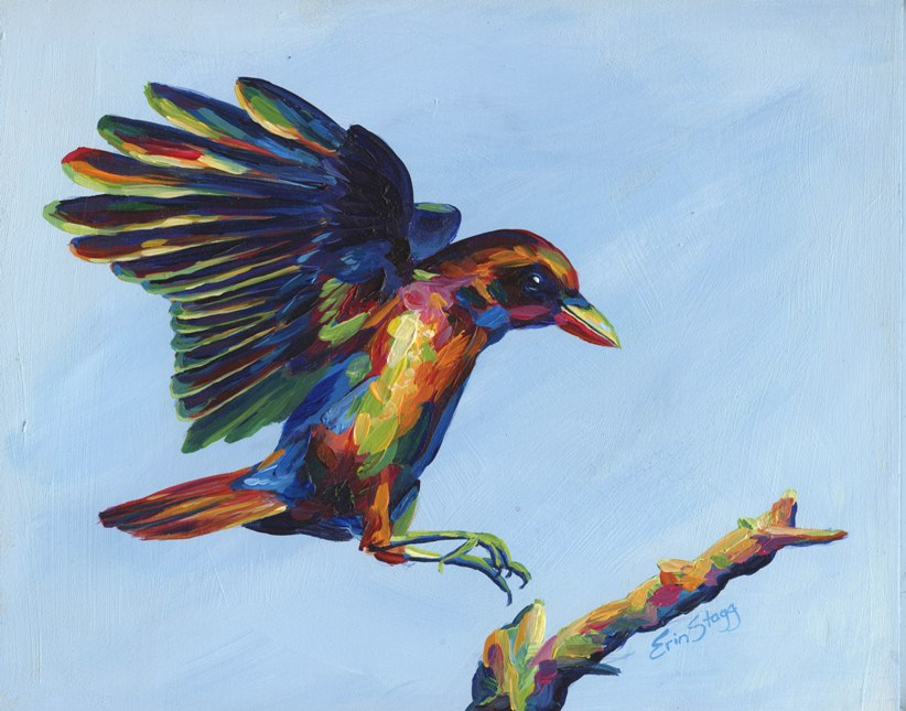 Rainbow Crow Study-sm.jpg