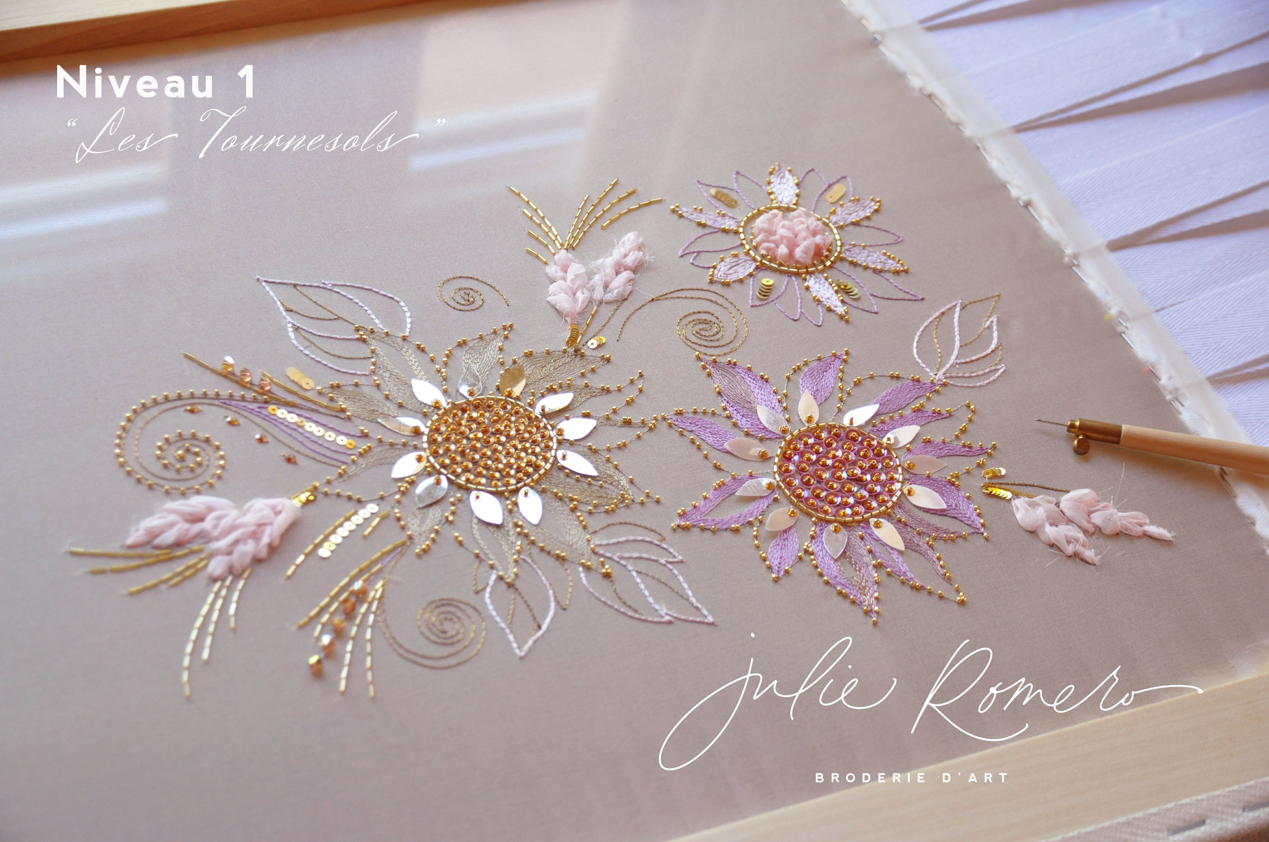- Broderie haute couture