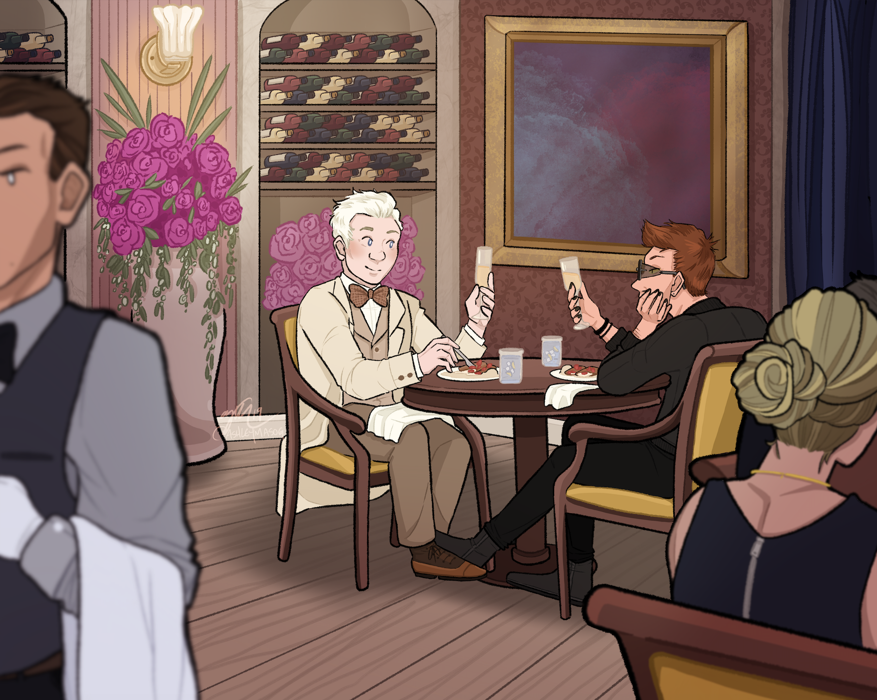 Dining at the Ritz (Good Omens)