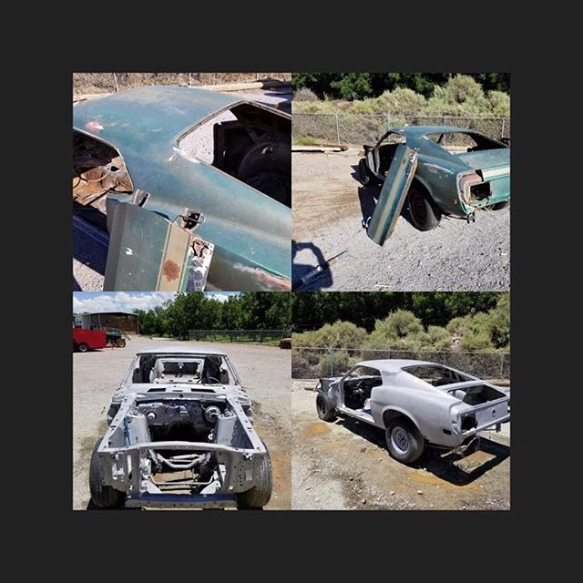 1970 mustang fastback blasted today. Came out very clean.  #cleanblast #mediablasting #sandblasting  #concreteblasting #stuccoblasting #paintremoval #commercialwork #industrialwork #buildingrestoration #marine #lascruces #elpaso #newmexico #texas