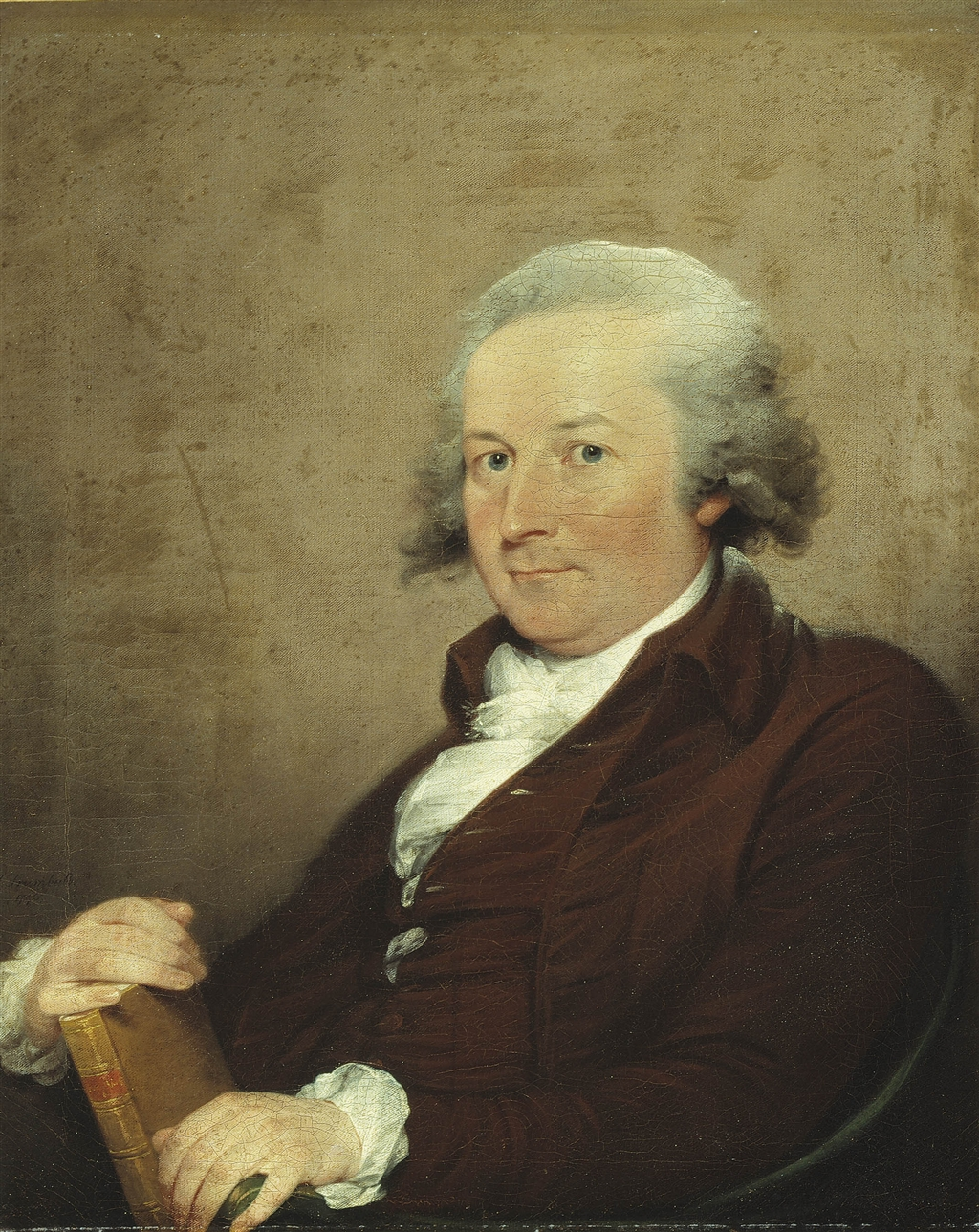 Poet John Trumbull by his cousin, painter John Trumbull. Confused? Only because you haven't been properly taught American literature (or American art for that matter).