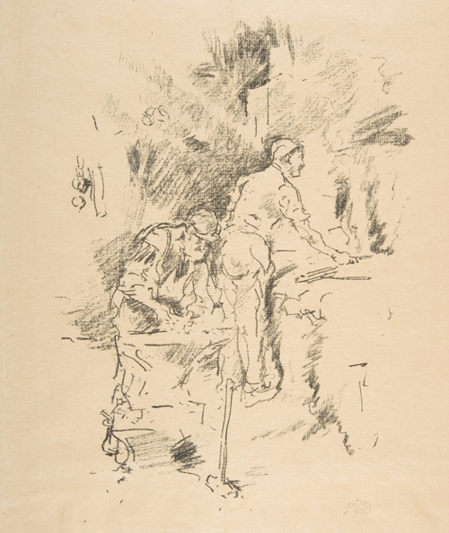 Father and Son by James Whistler, 1895