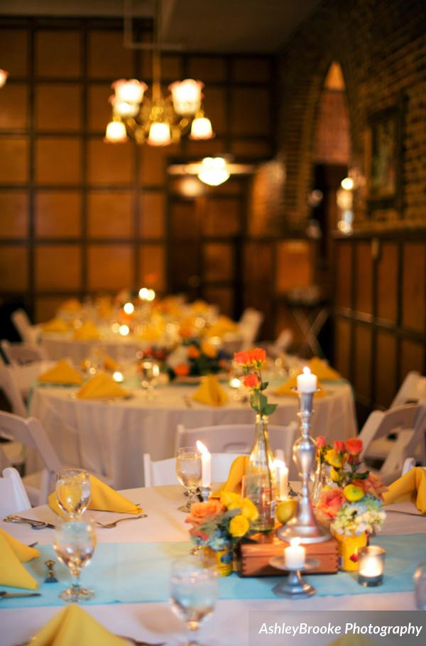 The historic Don Vicente hotel became the couple's private reception space