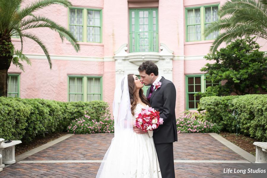 bride and groom vinoy