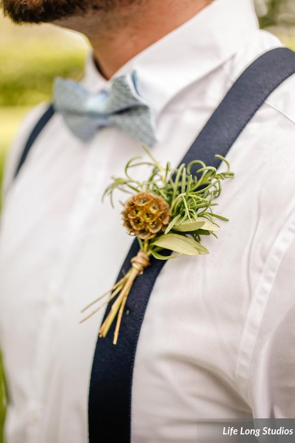 winsor event studio herb natural boutonniere