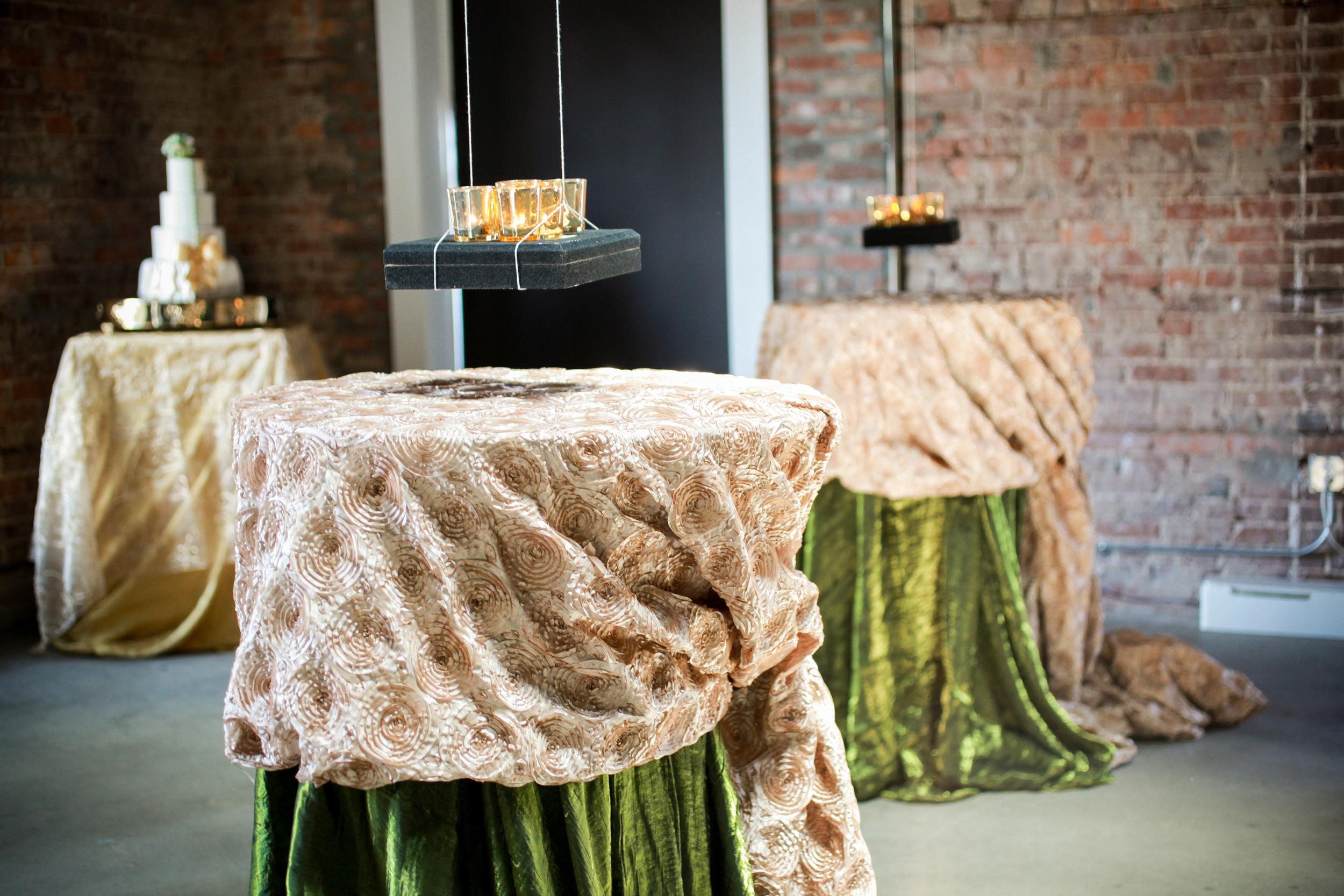 winsor event studio wedding cocktail hightop table