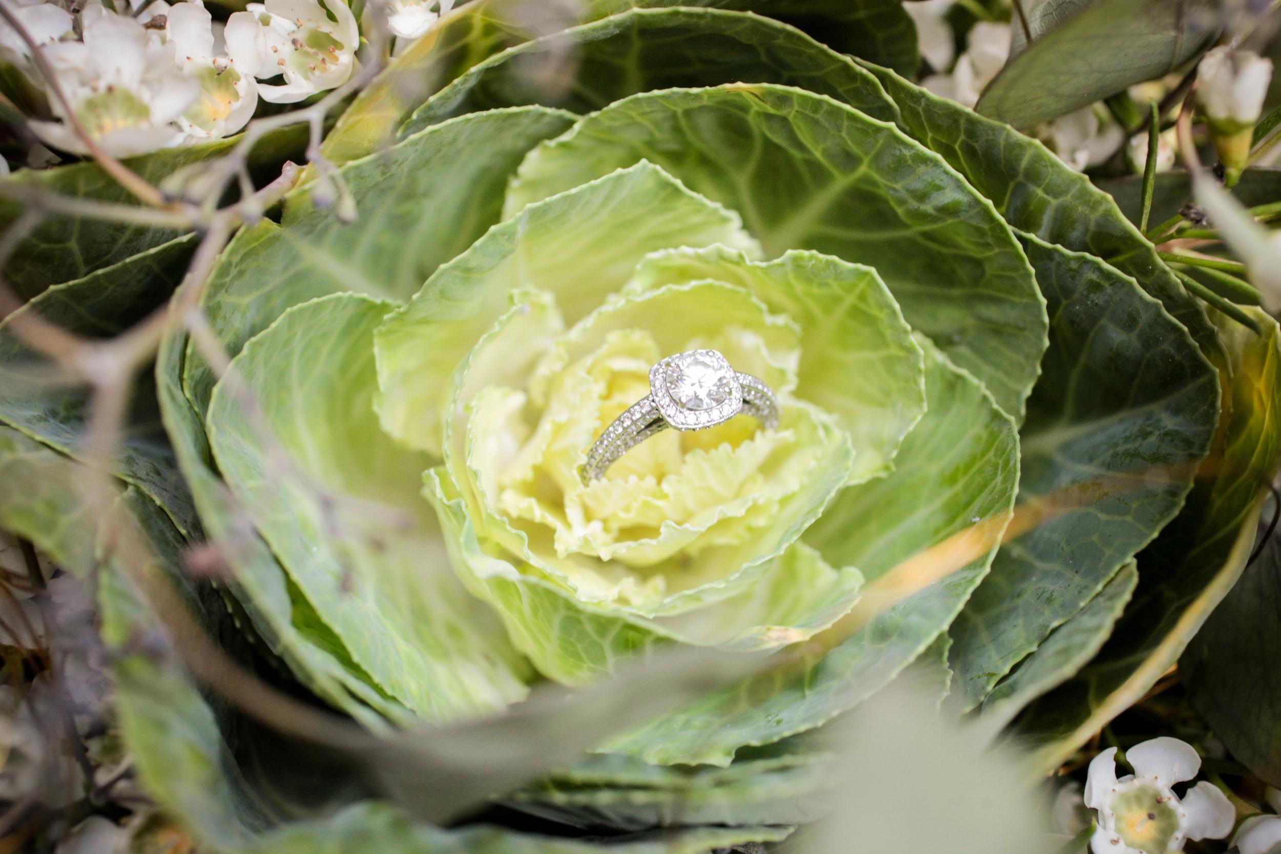 winsor event studio ring shot bouquet