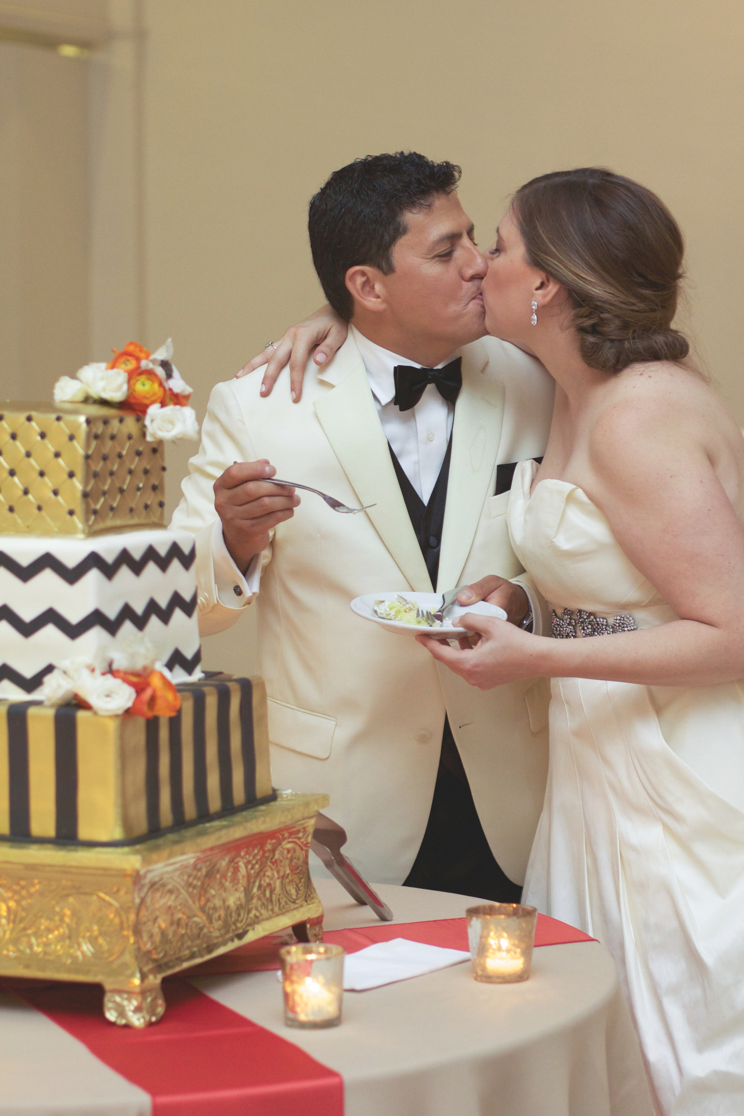 A sweet ending to a truly incredible wedding day!