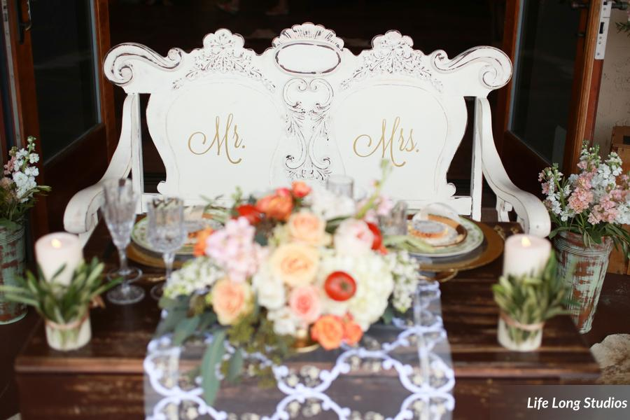 winsor event studio sweetheart table