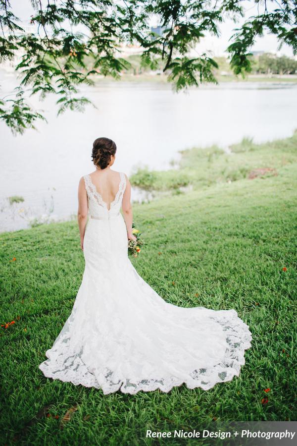 winsor event studio bridal gown lace
