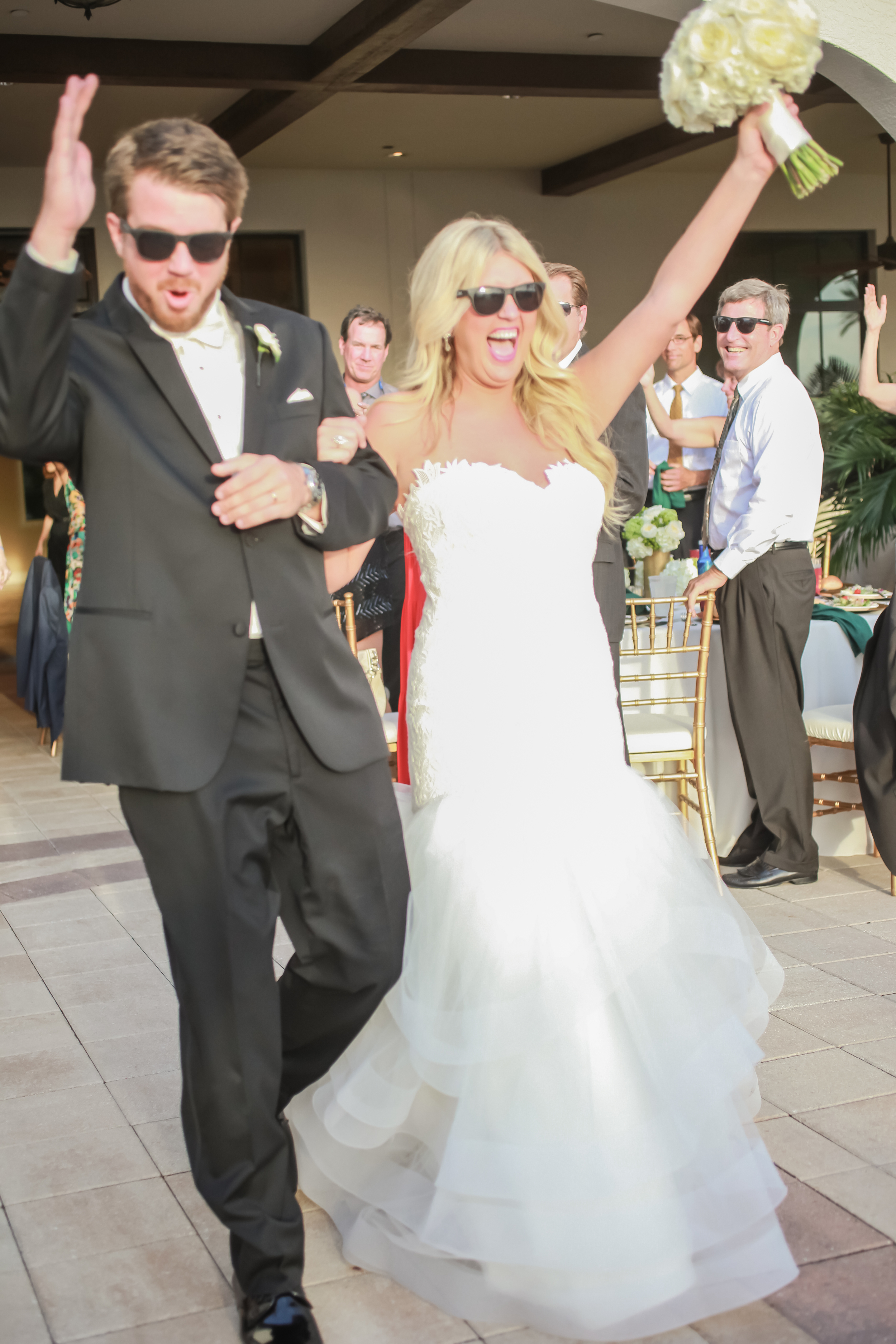 winsor event studio bride groom sunglasses