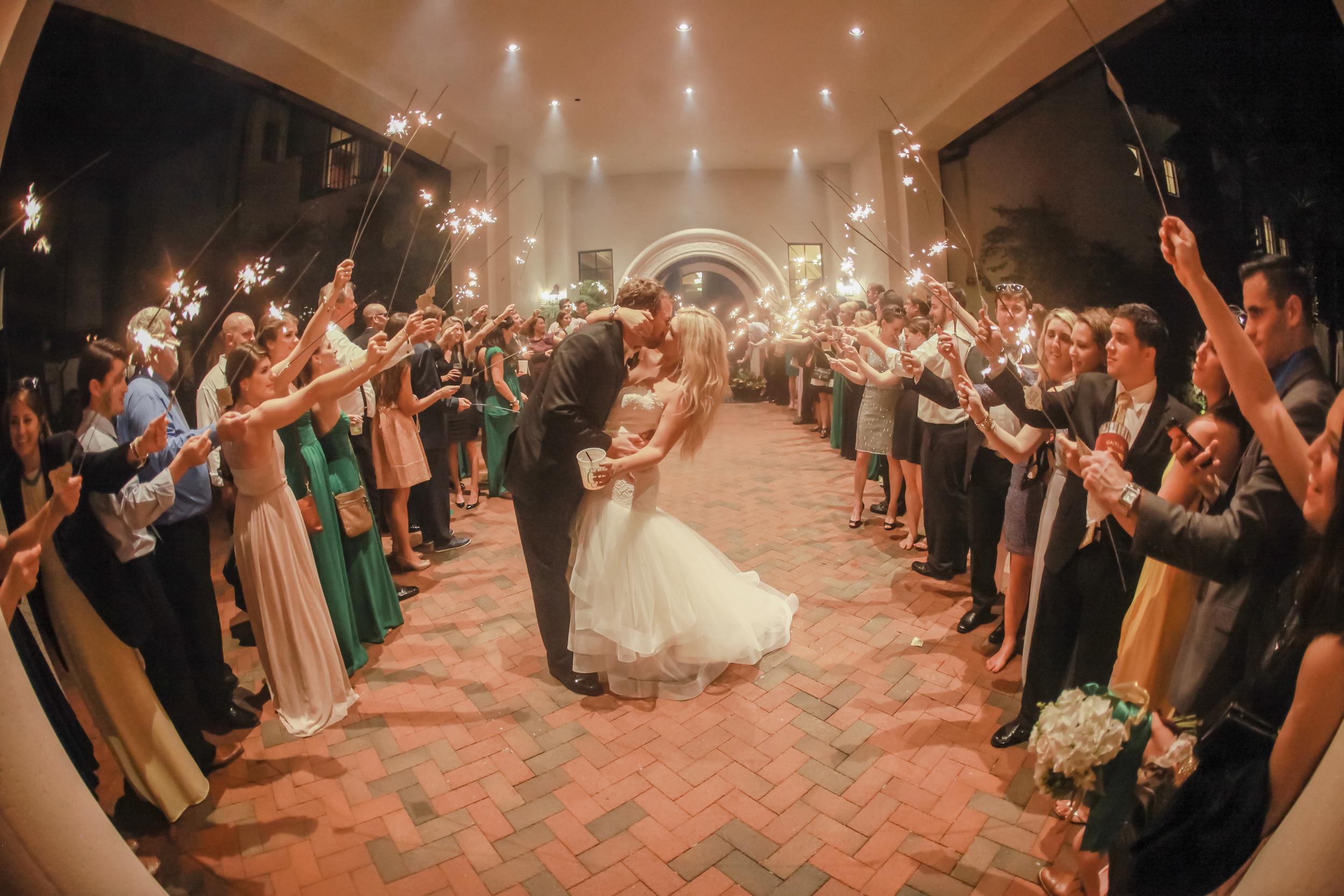 winsor event studio sparkler send off wedding