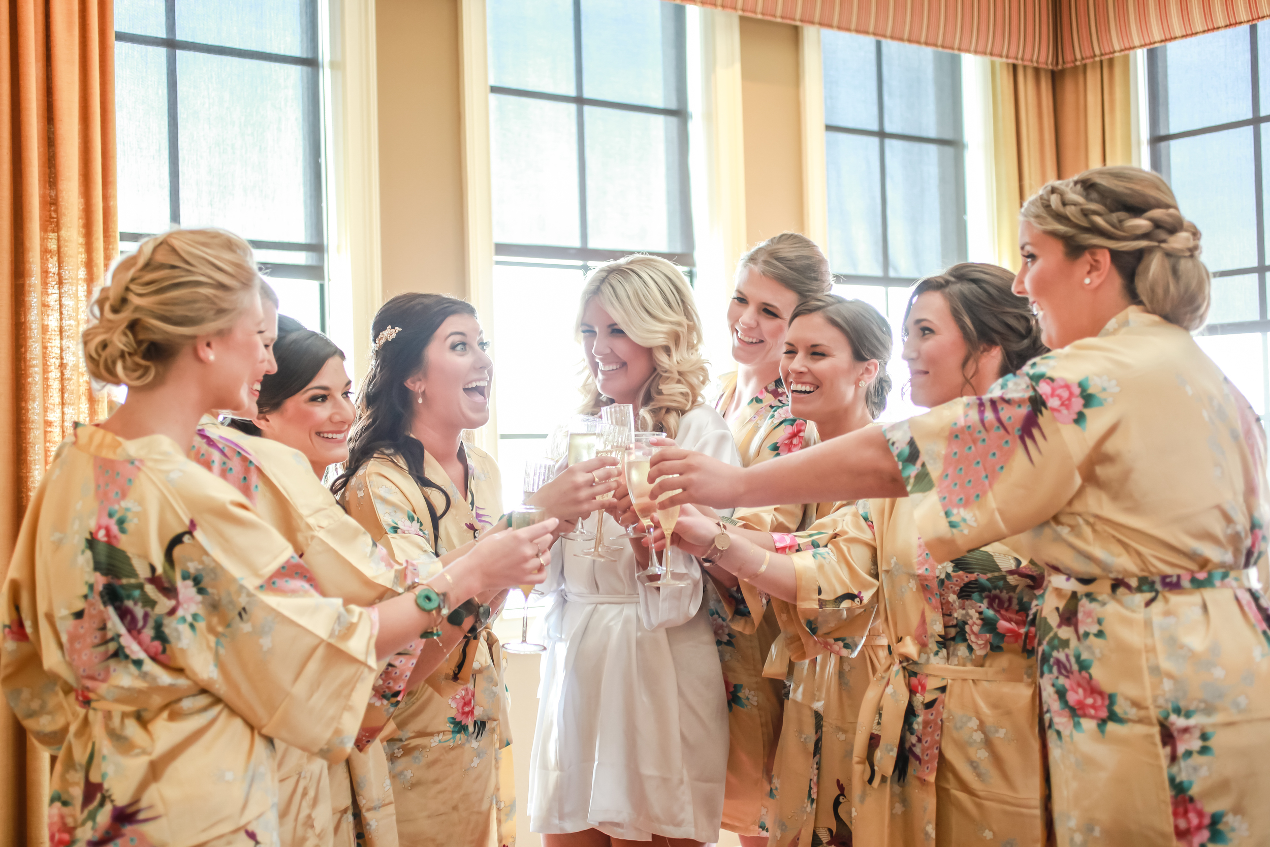 winsor event studio bridesmaid gift robes