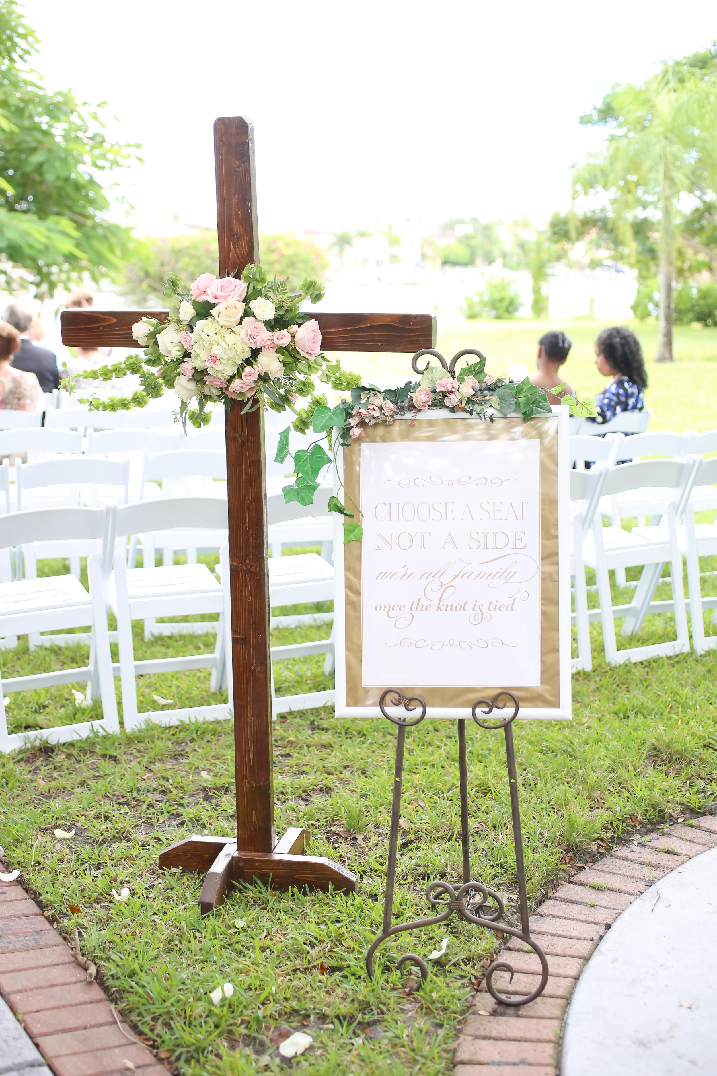 winsor event studio wedding cross ceremony