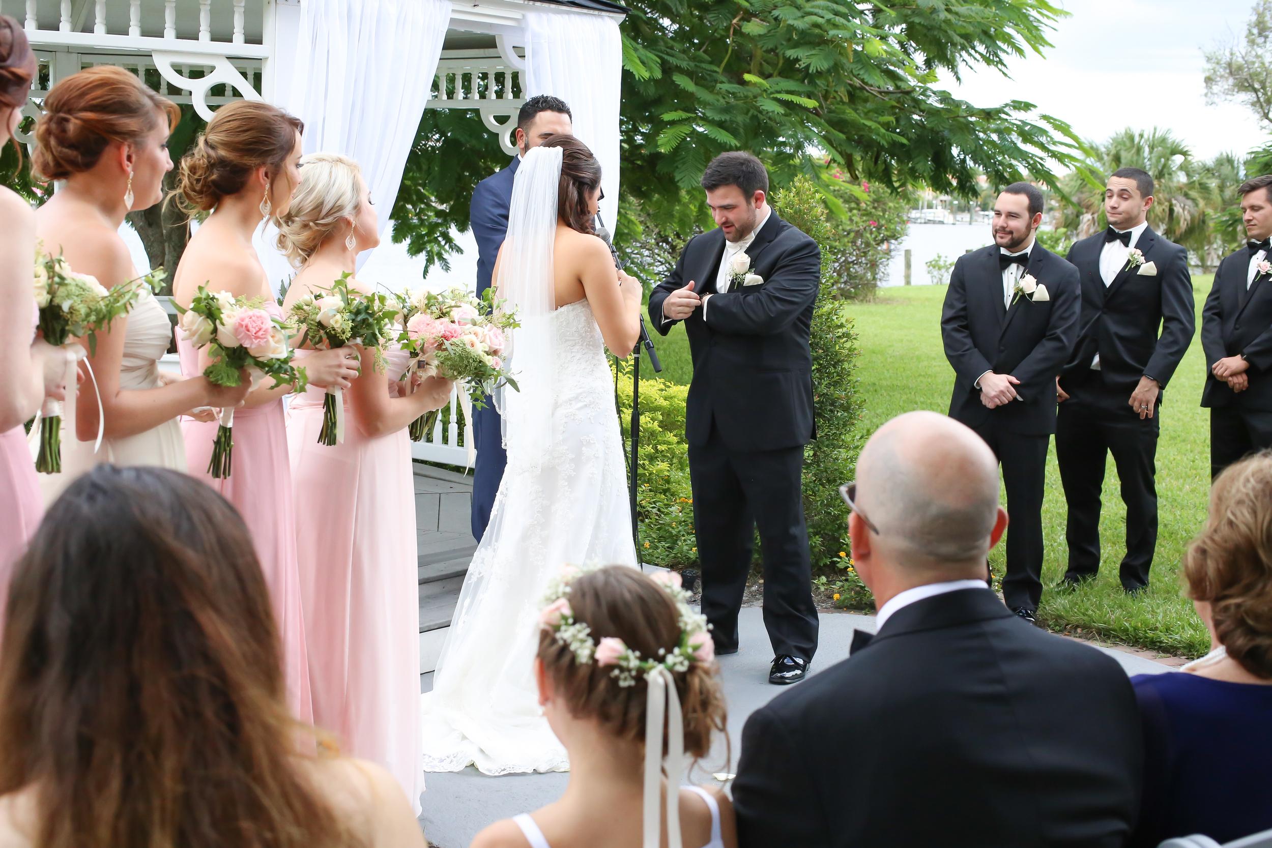 winsor event studio davis islands garden club wedding gazebo