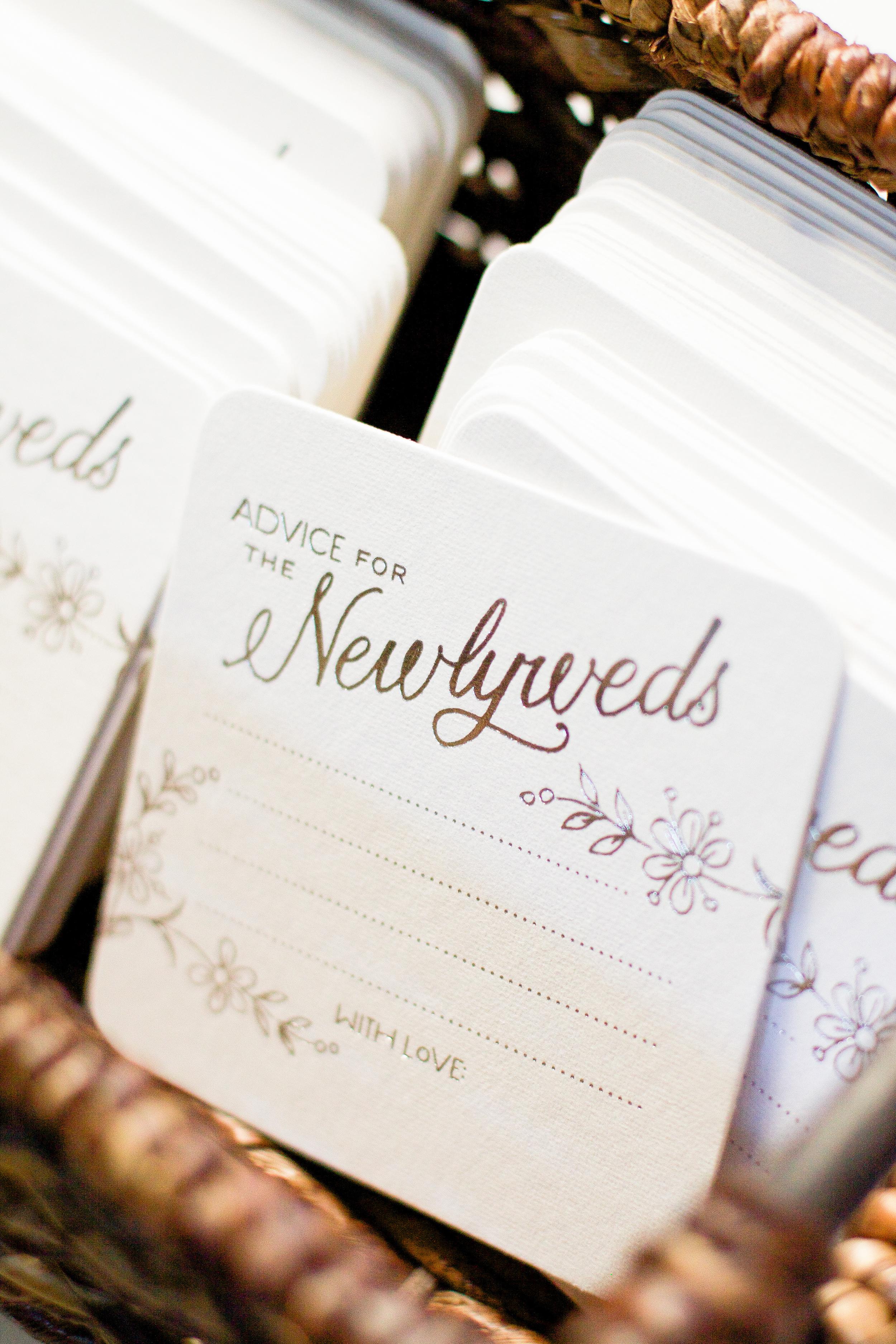 winsor event studio wedding coasters advice guest book alternative