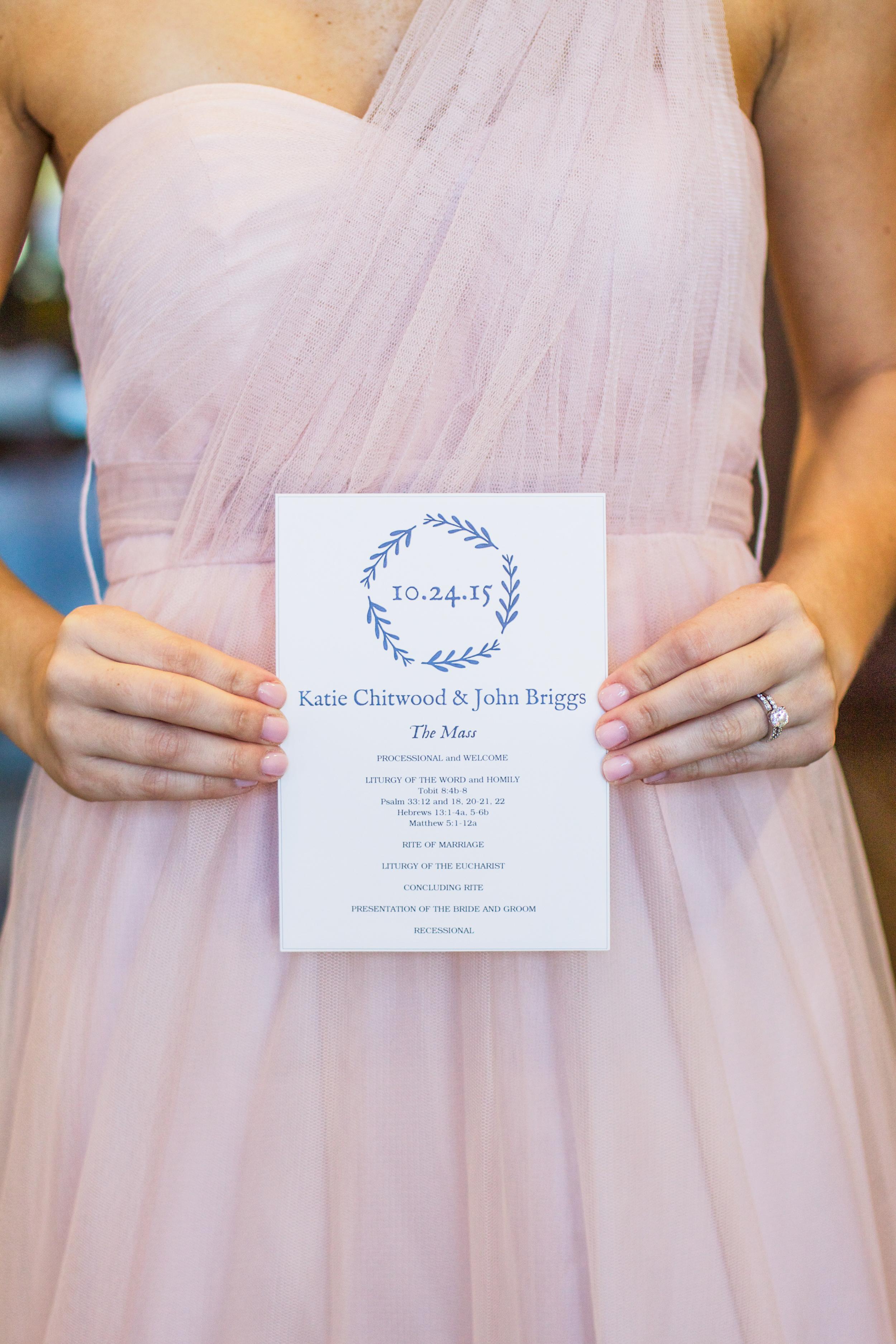 winsor event studio branch invitation wedding stationery program