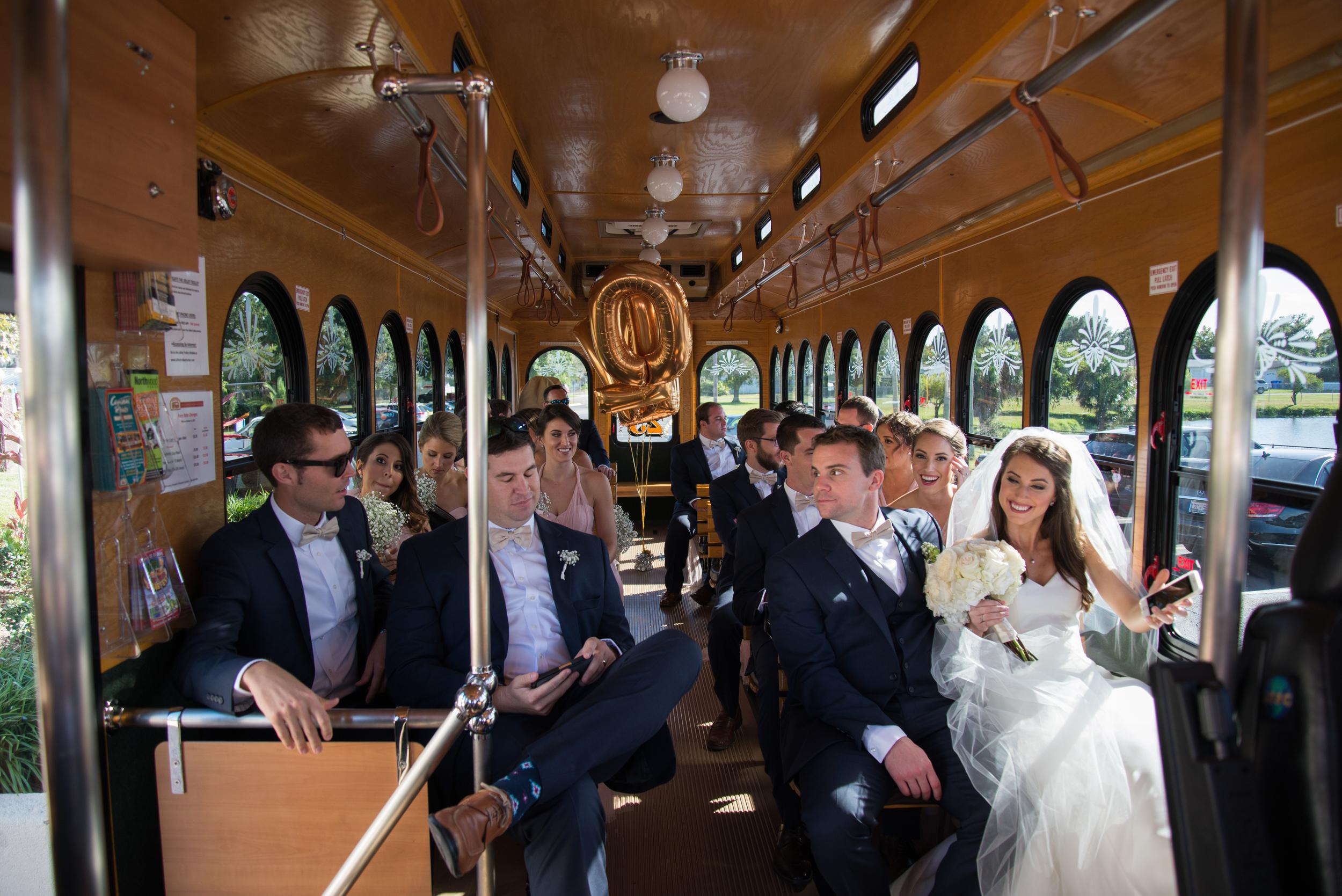 winsor event studio wedding trolley