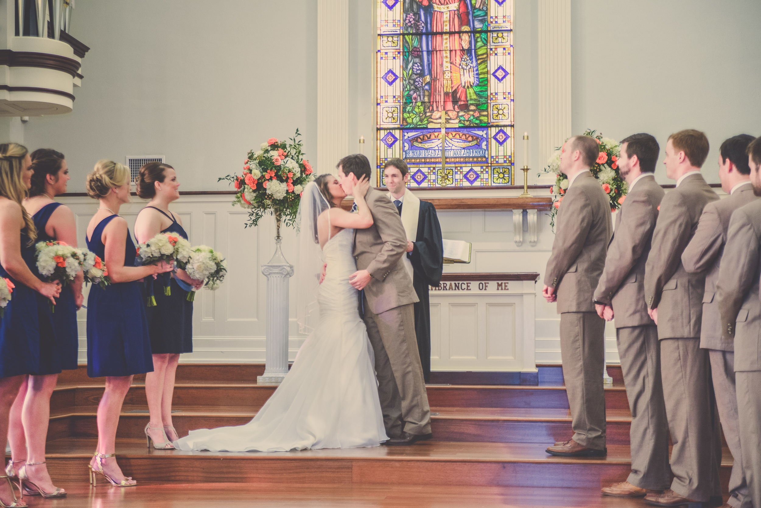 winsor event studio church wedding ceremony