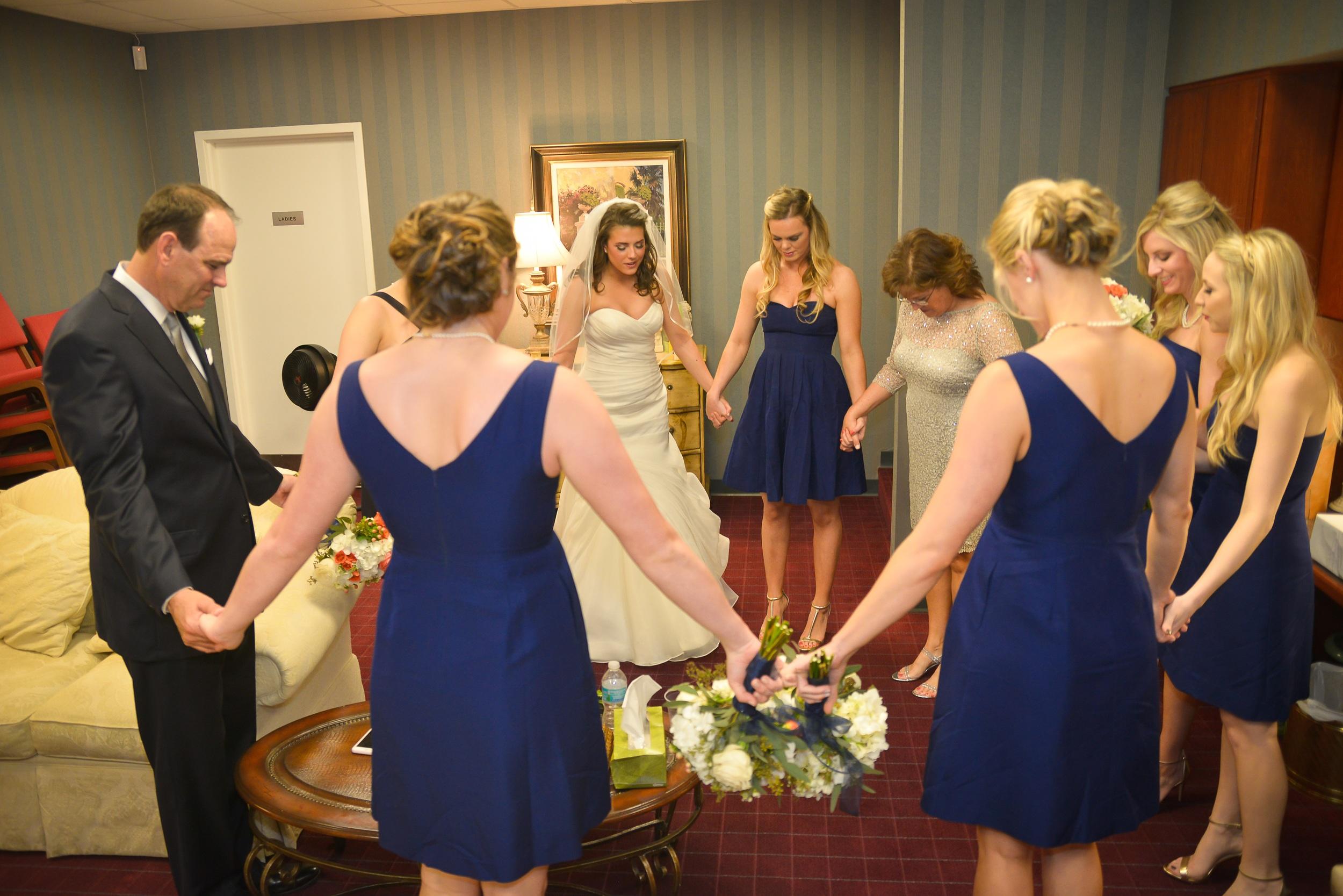 winsor event studio ceremony prayer wedding