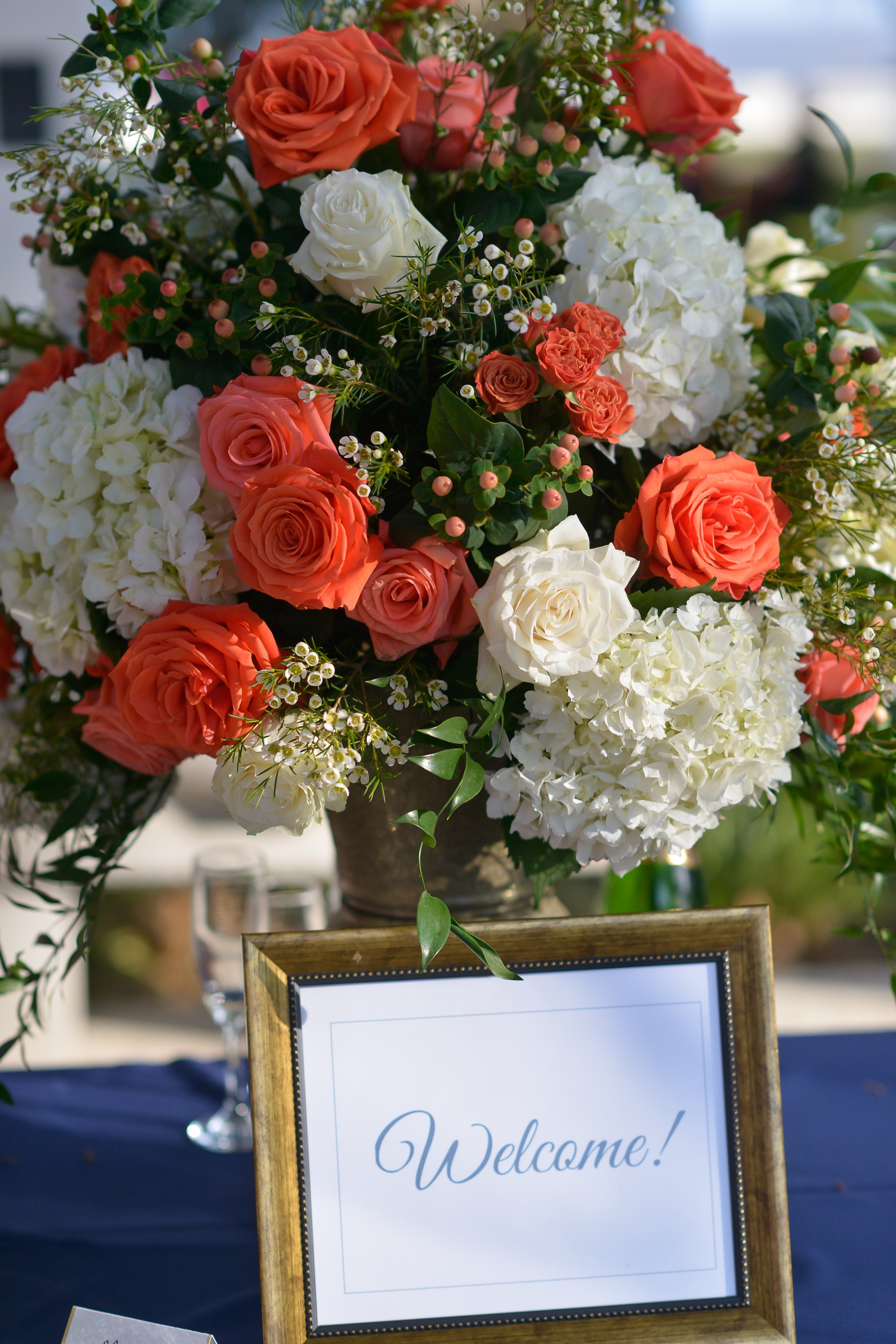 winsor event studio wedding welcome sign