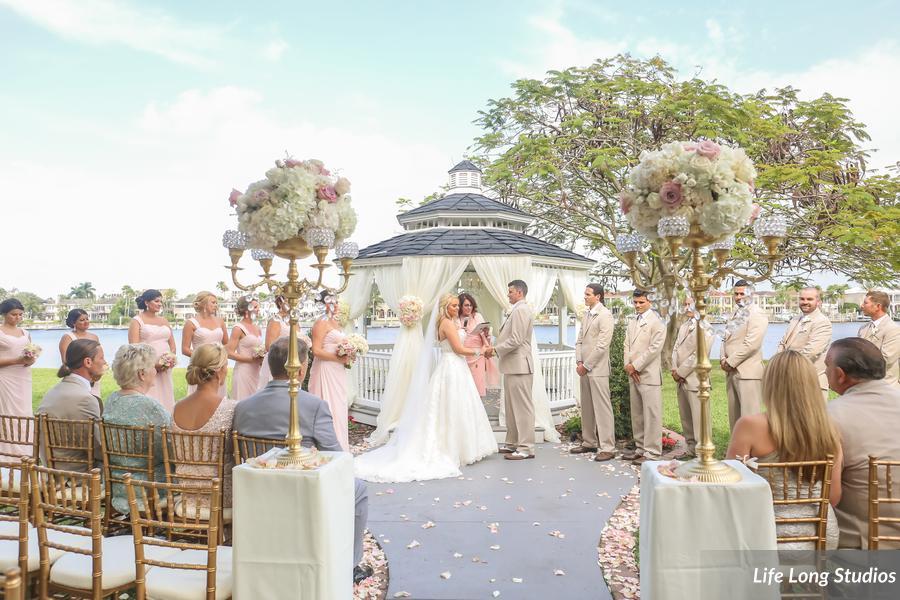 winsor event studio davis islands garden club wedding gazebo ceremony