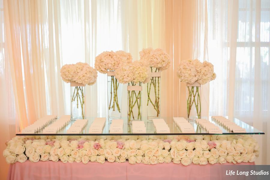 winsor event studio floral table escort card display