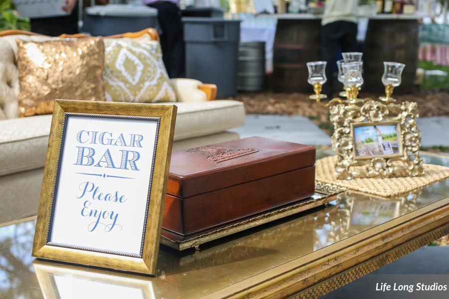 winsor event studio cigar bar wedding