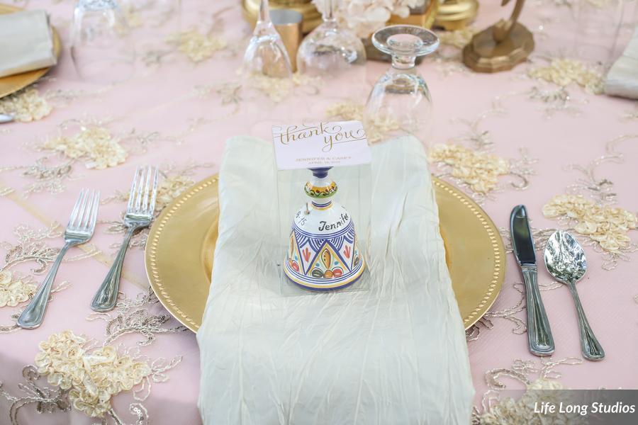 winsor event studio wedding favor columbia pottery ceramic