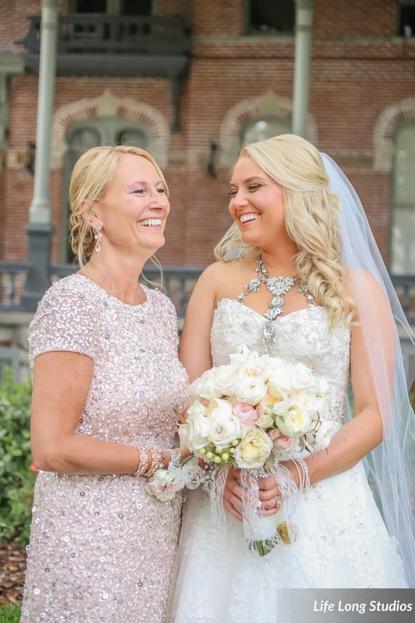 winsor event studio blush wedding bouquet