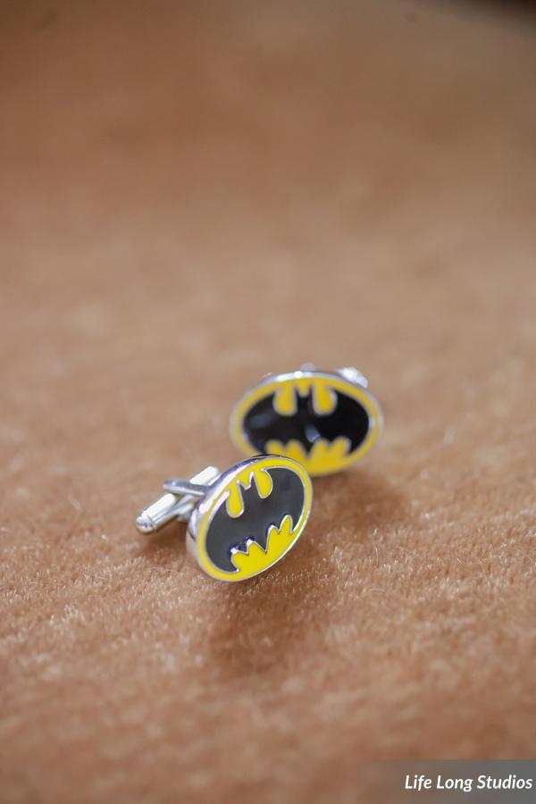 winsor event studio batman comic cuff links groom gift wedding