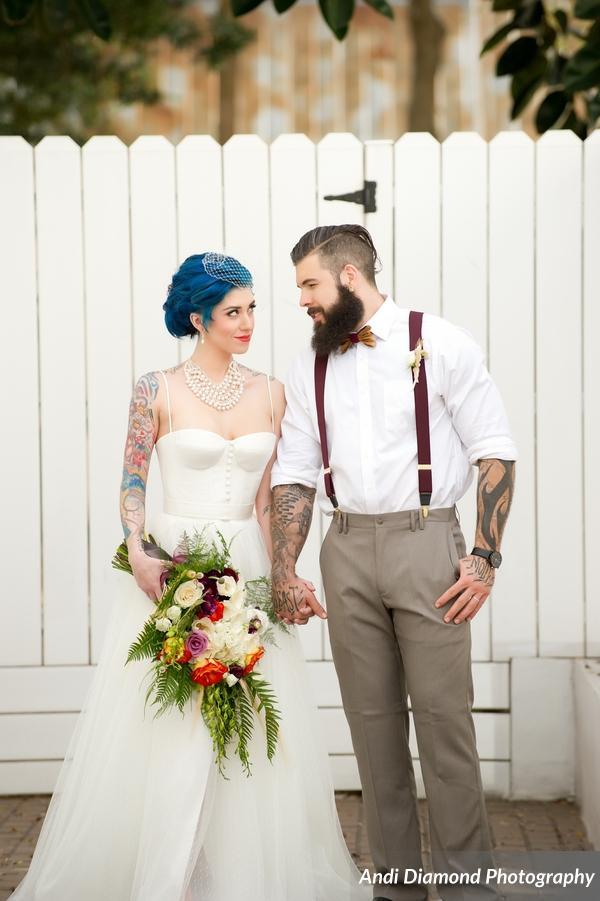 winsor event studio alternative edgy bride