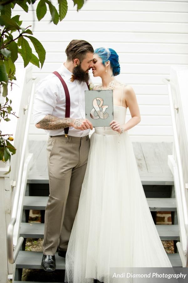winsor event studio industrial chic wedding