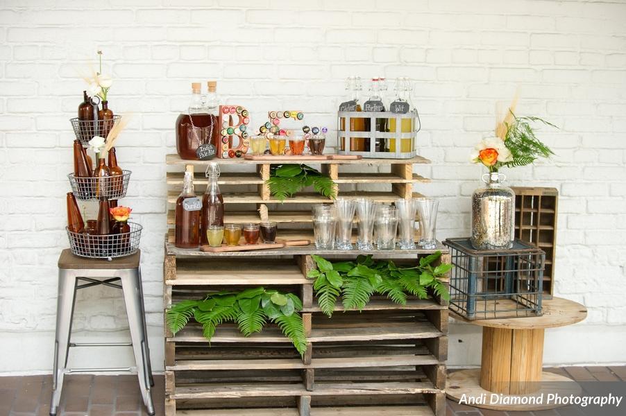 winsor event studio craft beer wedding bar brewery growlers