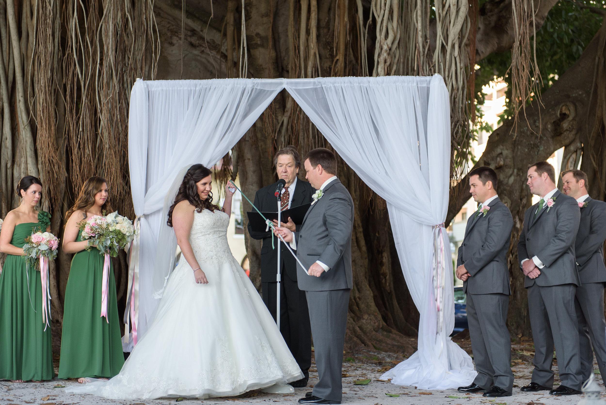 winsor event studio wedding knot tying unity ceremony