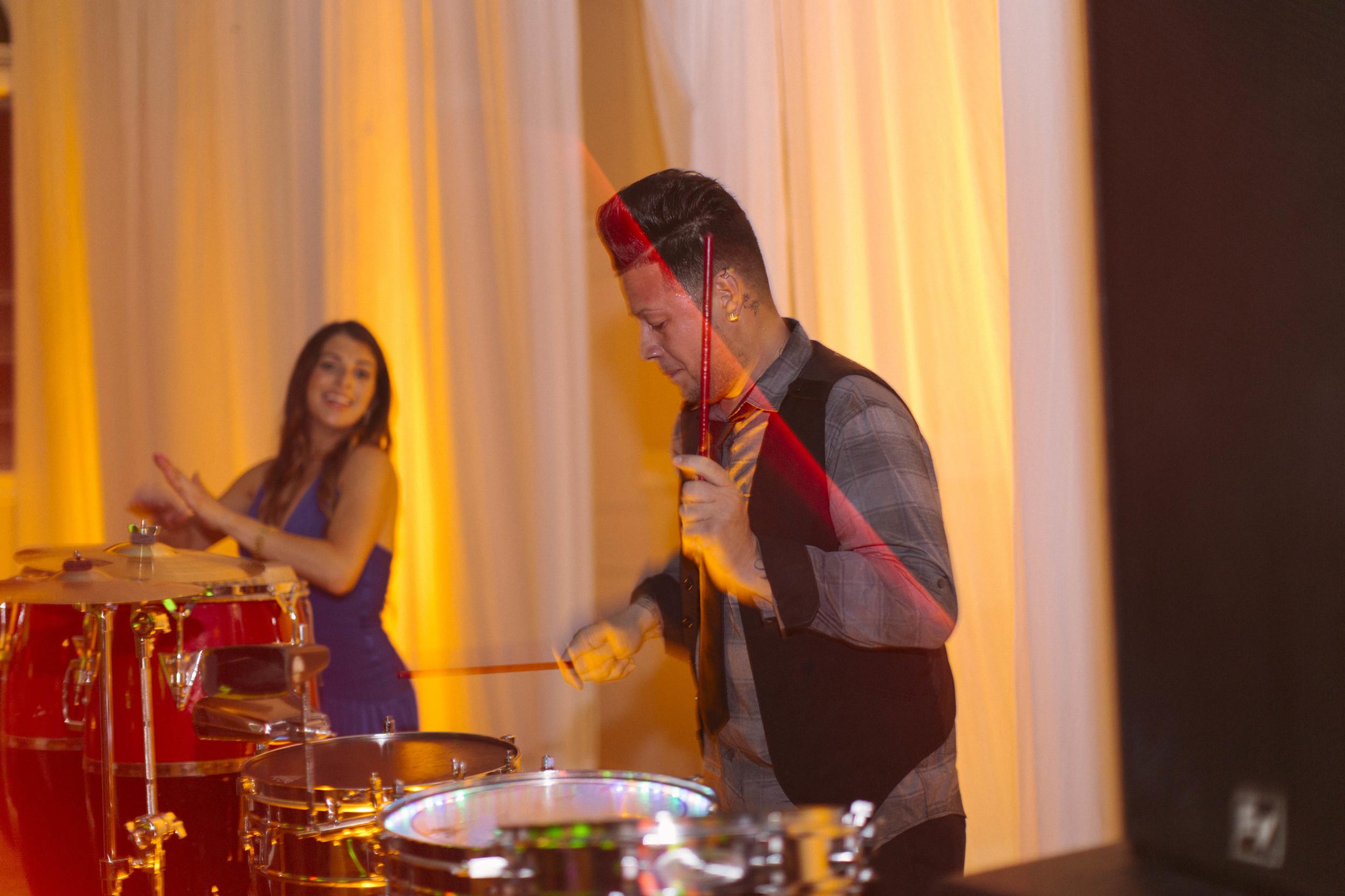 winsor event studio percussion dj drums wedding reception
