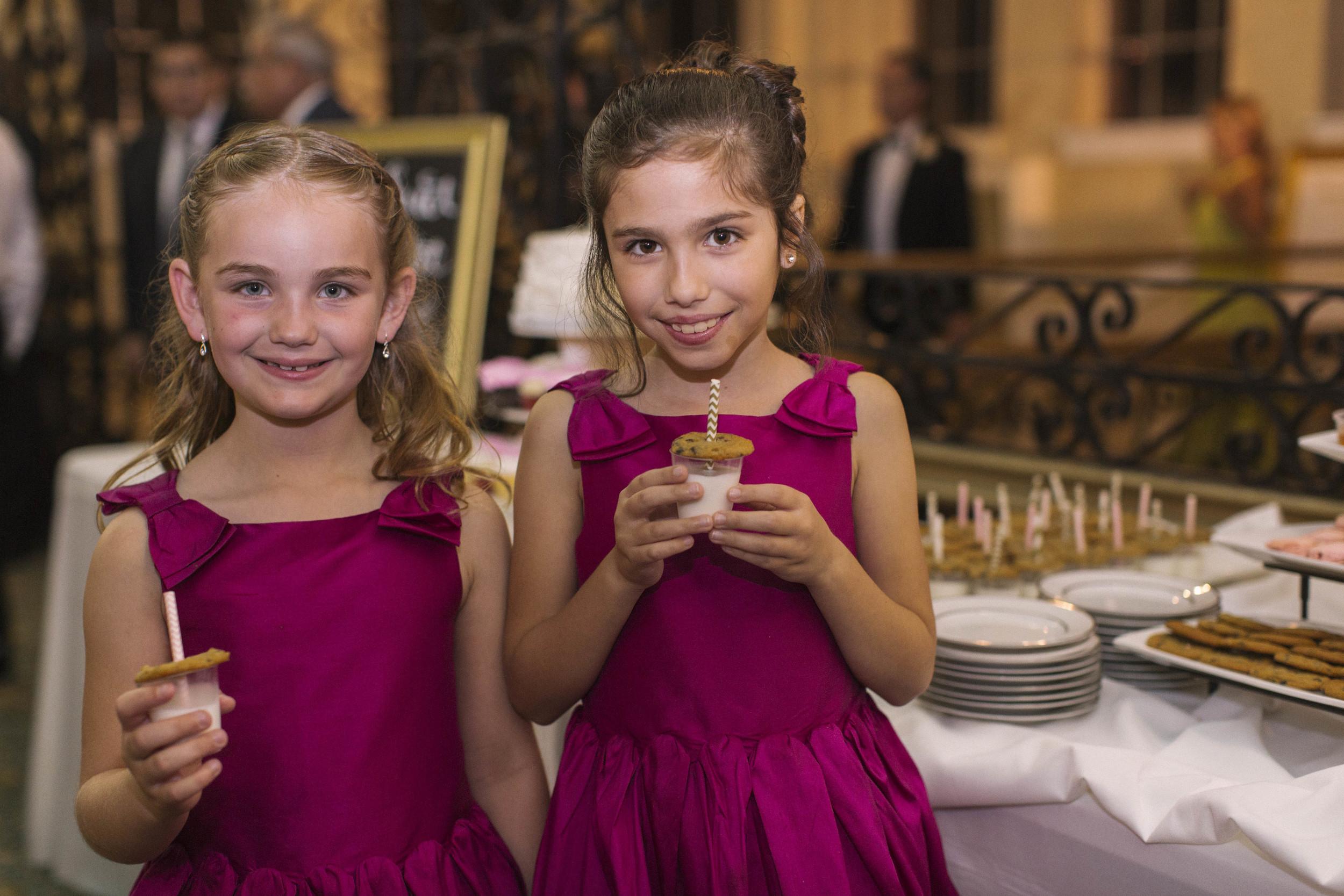 winsor event studio cookie milk shots wedding