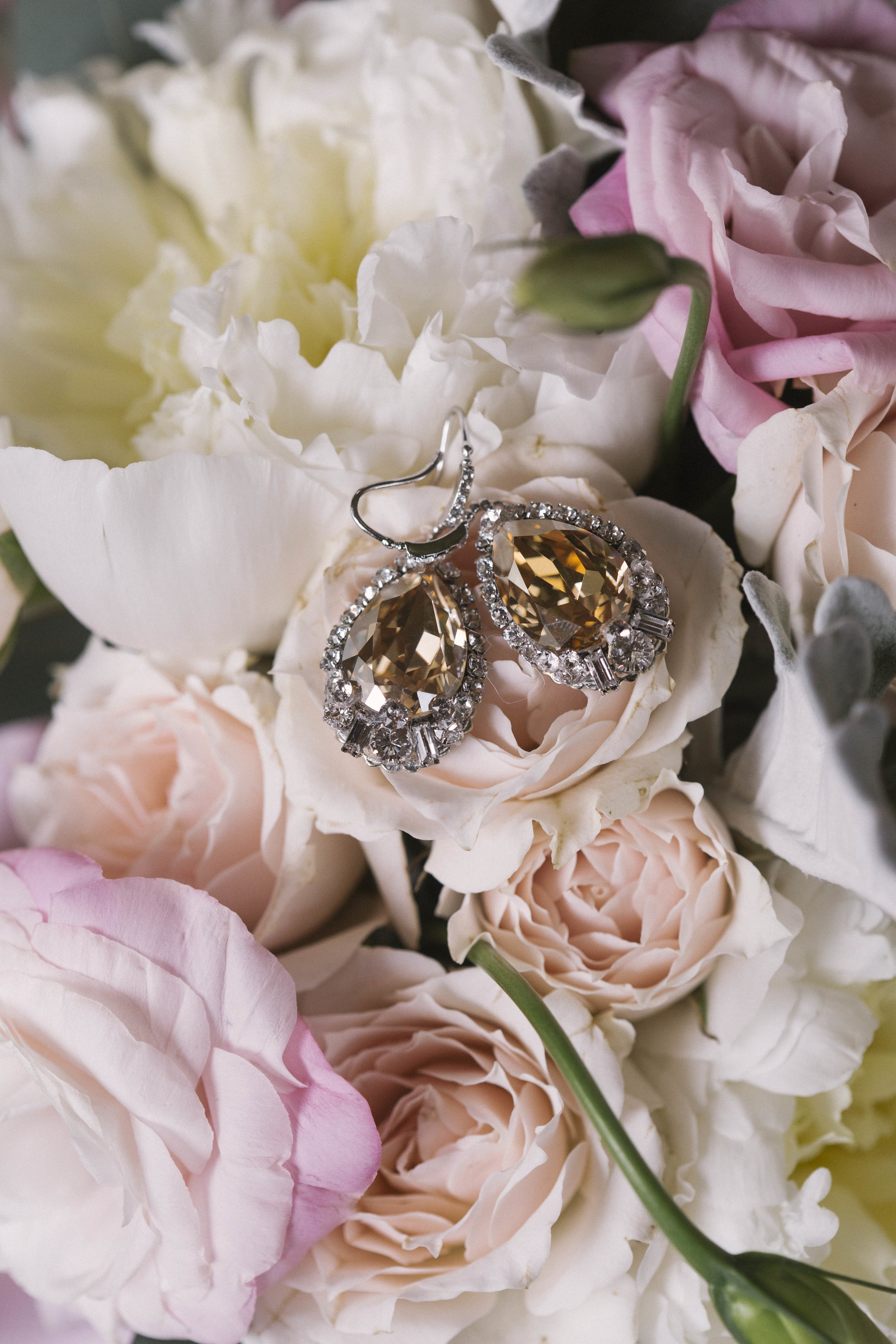 winsor event studio blush bouquet wedding
