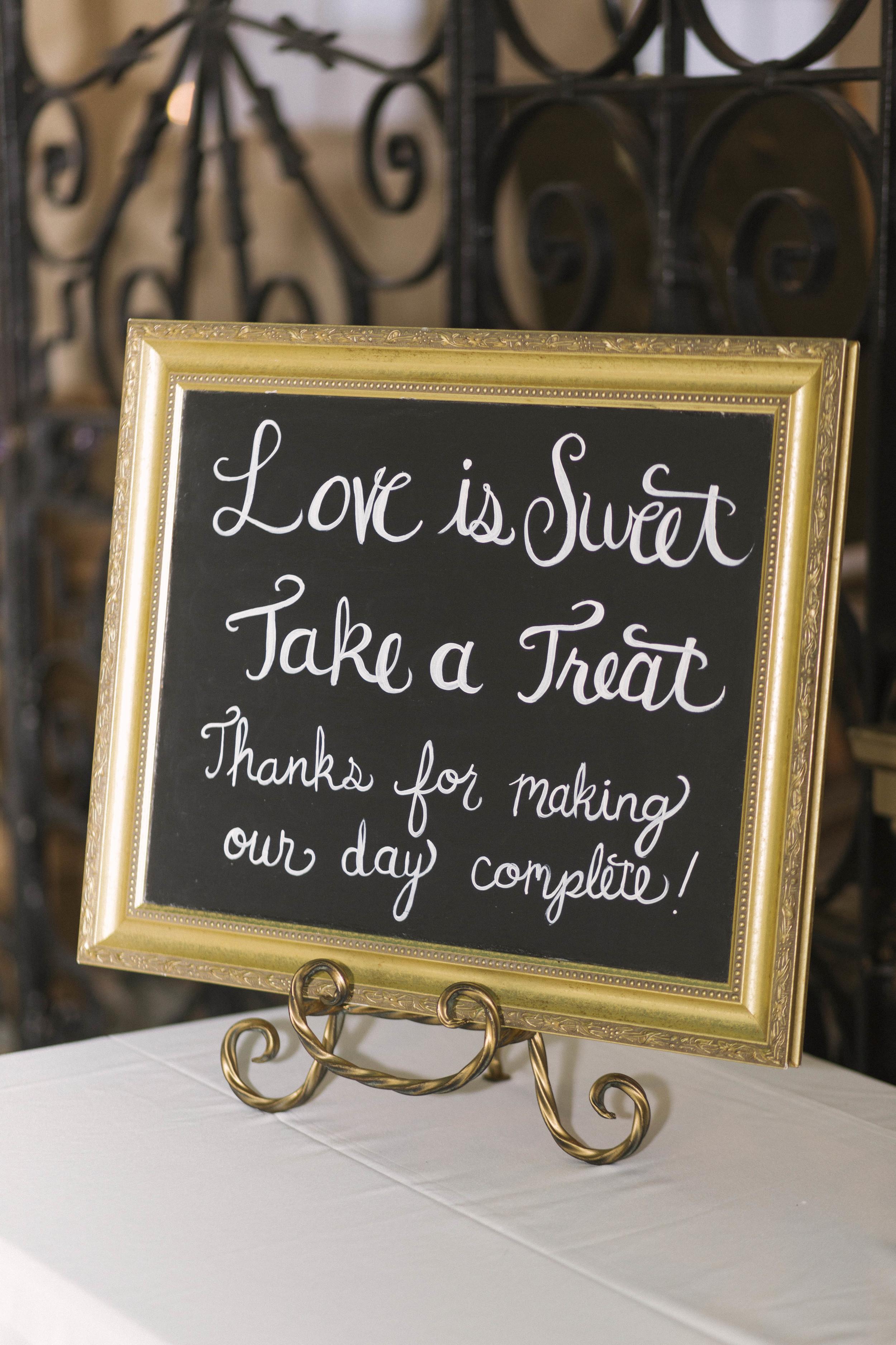 winsor event studio wedding dessert bar buffet