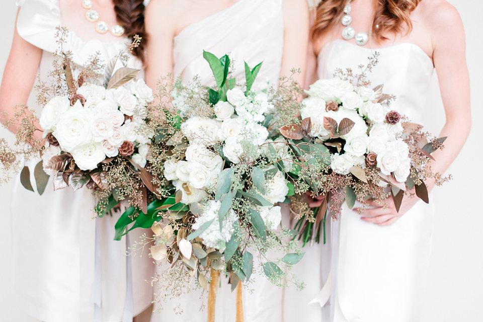 winsor event studio metallic bouquet