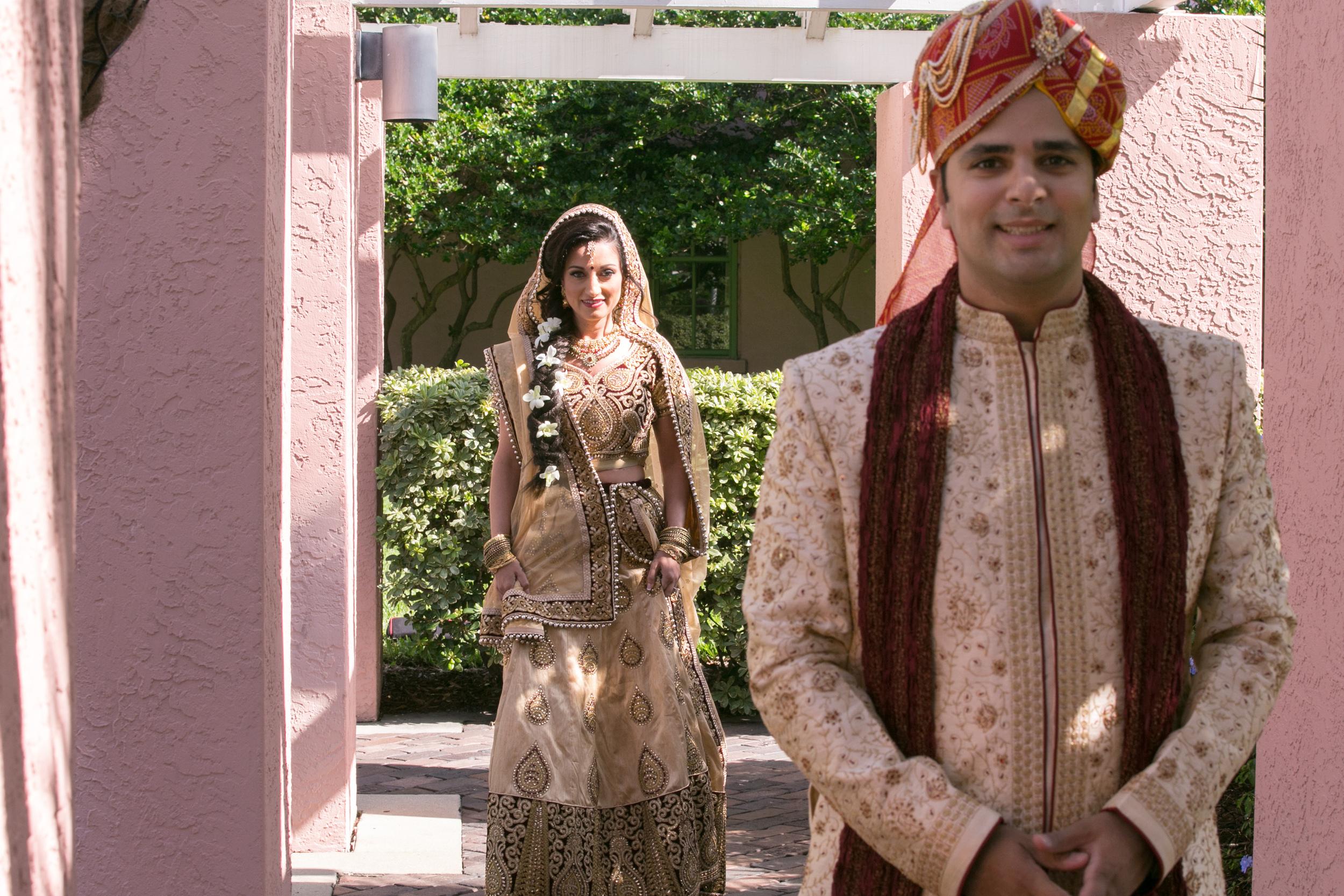 winsor event studio indian wedding first look